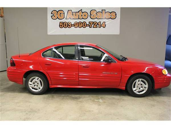 2000 Pontiac Grand Am SE1 - 3G Auto