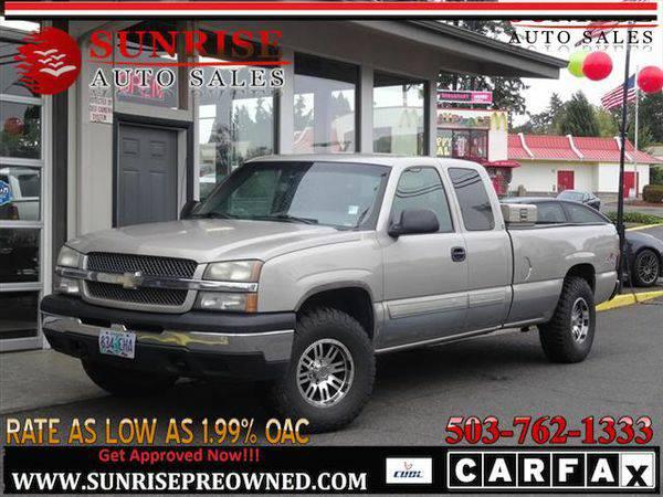 2004 *Chevrolet* *Silverado* *1500* CHEVY 1500 LONG BOX 4WD NICE TRUCK