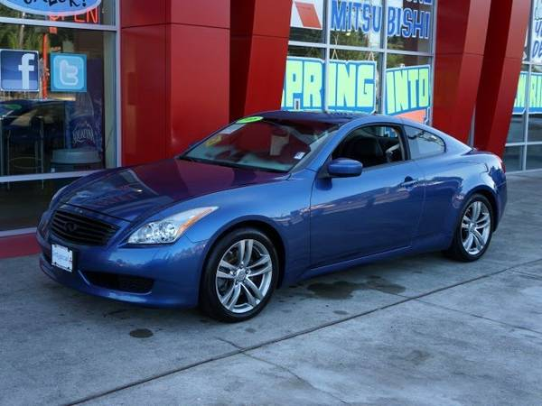 2008 *Infiniti* *G37* *Journey* 2D Coupe