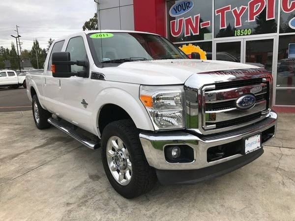2011 *Ford* *F-250SD* ** 4D Crew Cab