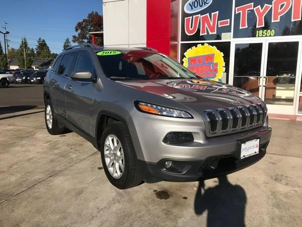 2015 *Jeep* *Cherokee* *Latitude* 4D Sport Utility