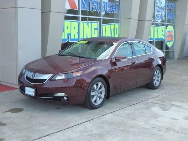 2012 *Acura* *TL* *3.5* 4D Sedan