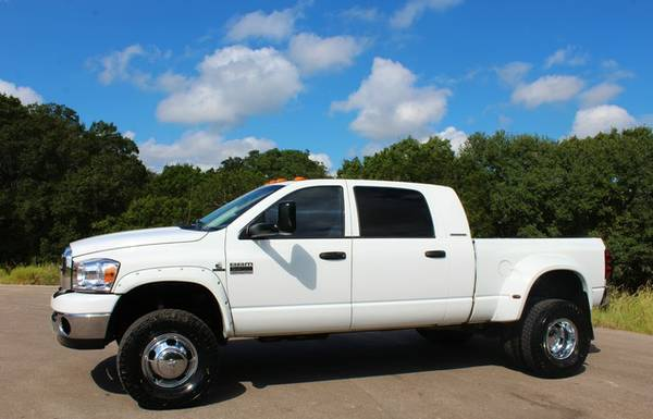 2007 DODGE RAM 3500 4X4 6.7L CUMMINS MEGACAB DUALLY*CLEAN CARFAX*CALL!