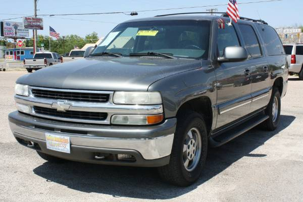 2001 CHEVROLET SUBURBAN LT C1500 2WD ROOF LEATHER