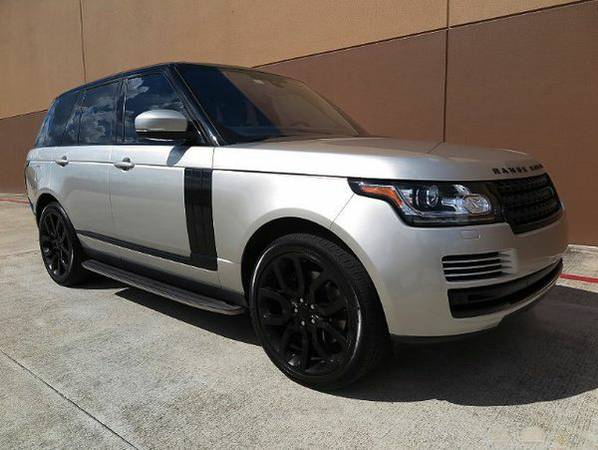 2016 *Land* *Rover* *Range* *Rover* HSE **GET FINANCED**