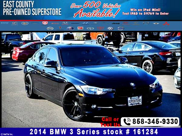 2014 BMW 3 Series 328i Stock Number: 161284