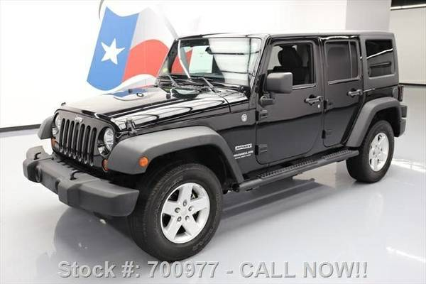 2013 Jeep Wrangler Unlimited Sport 7 DAY RETURN / 3000 CARS IN STOCK