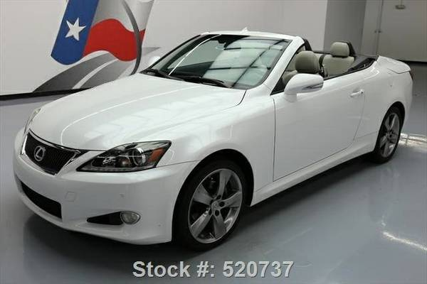2011 Lexus IS 250C 7 DAY RETURN / 3000 CARS IN STOCK