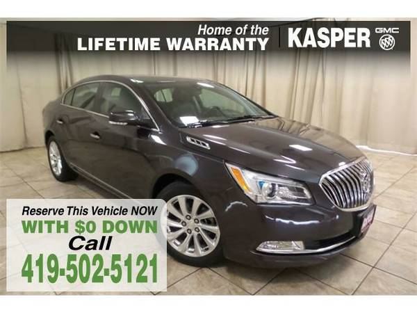 2014 *Buick LaCrosse* Leather Group - GOOD OR BAD CREDIT OK!