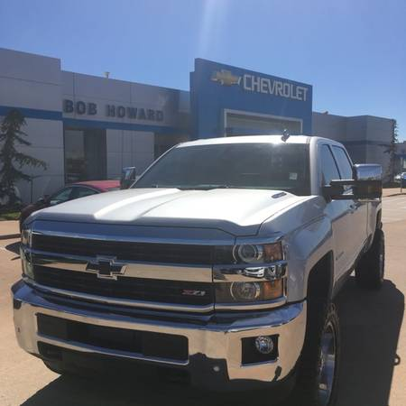 2016 *LTZ DURAMAX* CHEVY SILVERADO 2500HD Z71 CUSTOM LIFT AND WHEELS