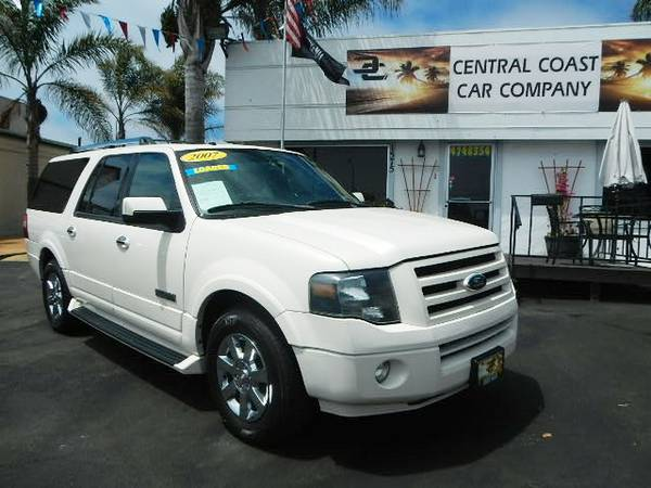 2007 FORD EXPEDITION EL FULLY LOADED SUPER CLEAN $$OFF KBB!!!!!