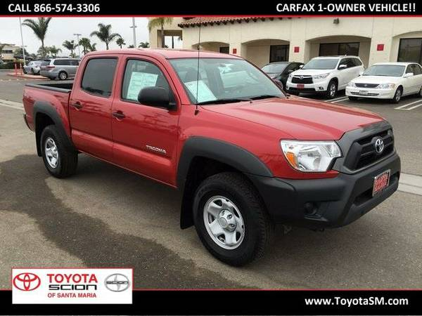 2015 *Toyota Tacoma* - Red