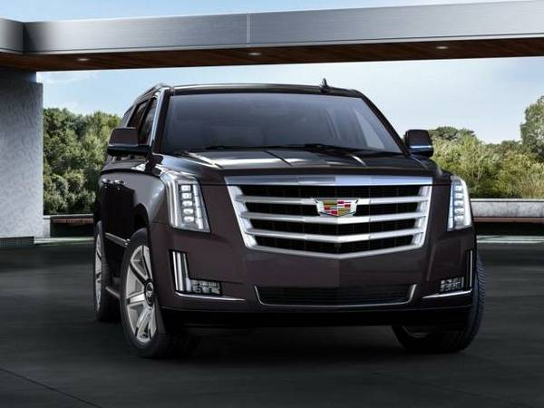 2016 *Cadillac Escalade* 4WD 4DR LUXURY COLLECTION - BLACK RAVEN