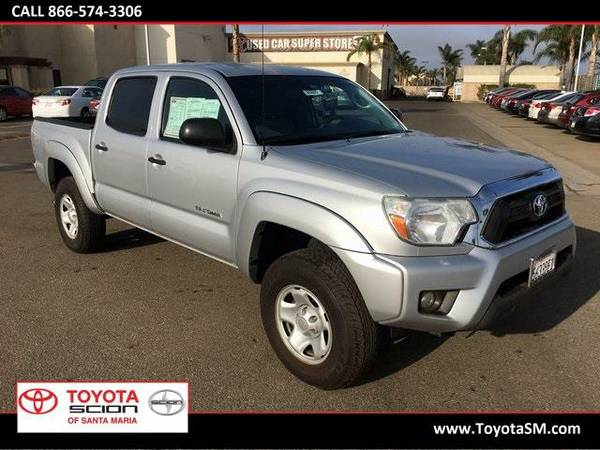 2012 *Toyota Tacoma* PreRunner - Silver