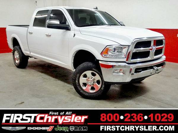 2014 *RAM 2500* Laramie-4x4-Crew Cab-Power Wagon - RAM Bright White...