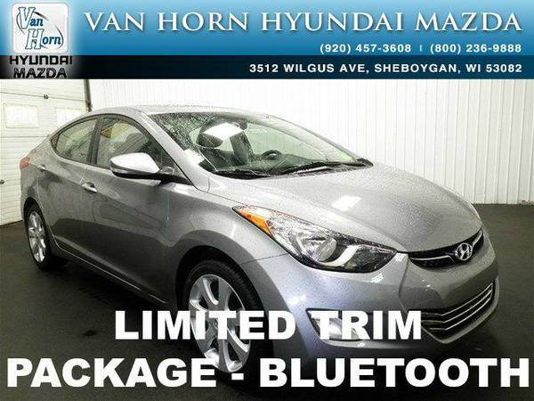 2013 *Hyundai Elantra* Limited - Titanium Gray Metallic BAD CREDIT OK!
