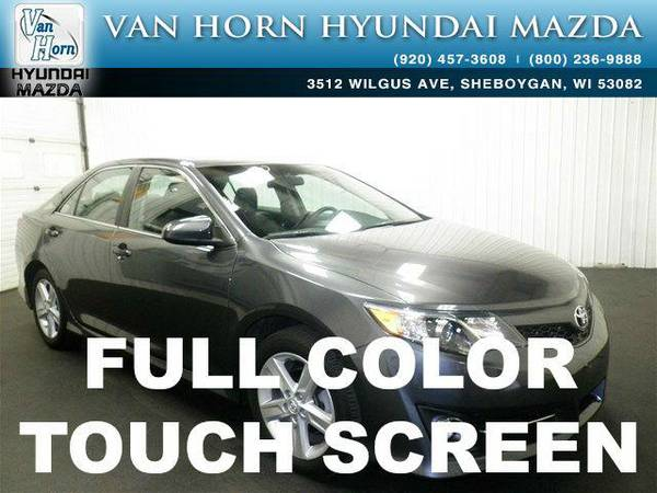 2013 *Toyota Camry* SE - Magnetic Gray Metallic BAD CREDIT OK!