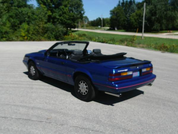 1986 Ford Mustang GT Convertible Price Reduced!!!