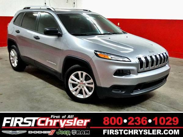 2015 *Jeep Cherokee* Sport - Jeep Billet Silver Metallic Clearcoat