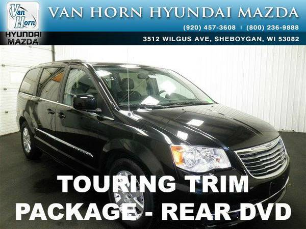 2014 *Chrysler Town & Country* Touring DVD - Brilliant Black Crystal...