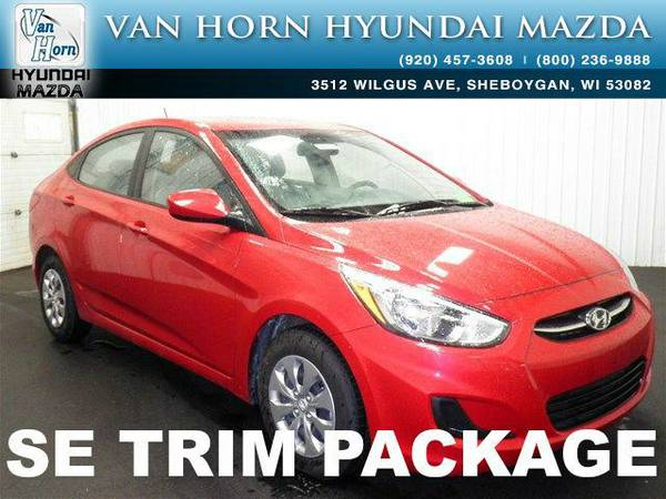 2016 *Hyundai Accent* SE - Boston Red Metallic BAD CREDIT OK!