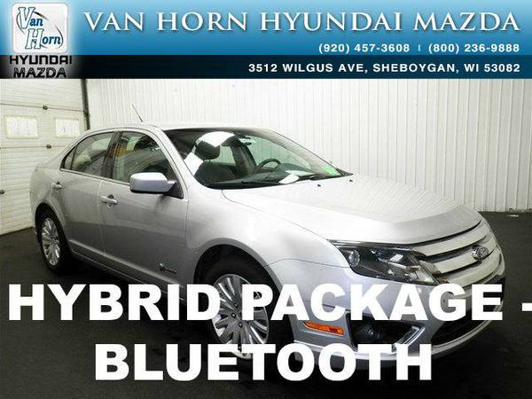 2010 *Ford Fusion Hybrid* HYBRID - Brilliant Silver Metallic BAD...