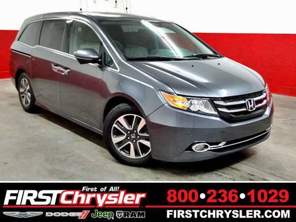 2014 *Honda Odyssey* Touring - Honda Modern Steel Metallic