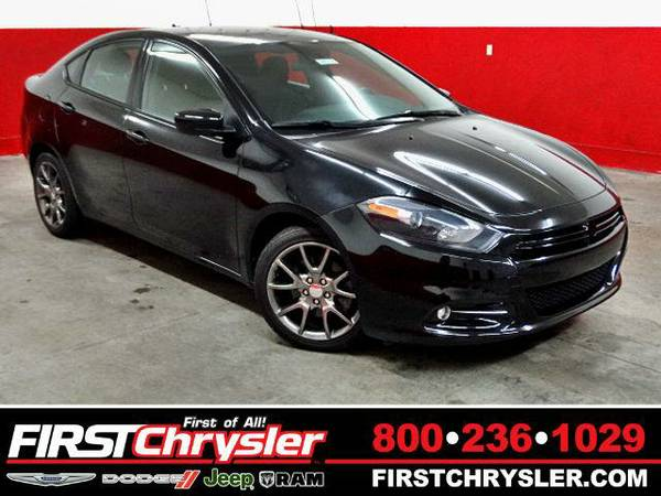 2013 *Dodge Dart* SXT/Rallye - Dodge Pitch Black Clearcoat