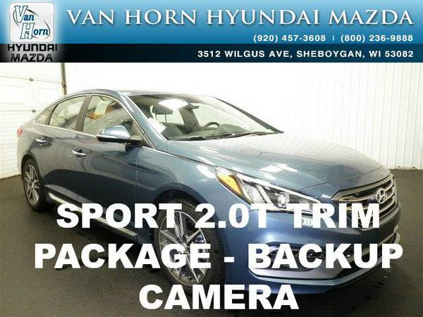 2015 *Hyundai Sonata* Sport 2.0T - Nouveau Blue BAD CREDIT OK!