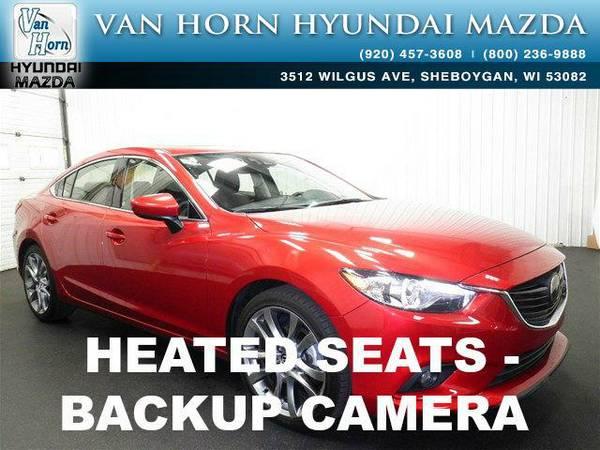 2015 *Mazda Mazda6* i Grand Touring - Soul Red Metallic BAD CREDIT OK!
