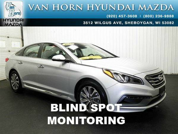 2015 *Hyundai Sonata* Sport TECH PACKAGE - Symphony Silver BAD CREDIT