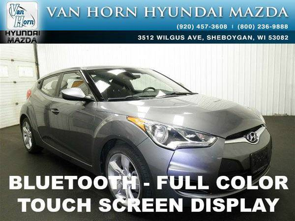 2013 *Hyundai Veloster* Veloster - Triathlon Gray Metallic BAD CREDIT
