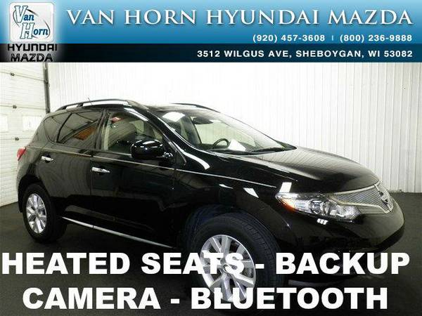2013 *Nissan Murano* SL AWD LTHR ROOF - Super Black BAD CREDIT OK!