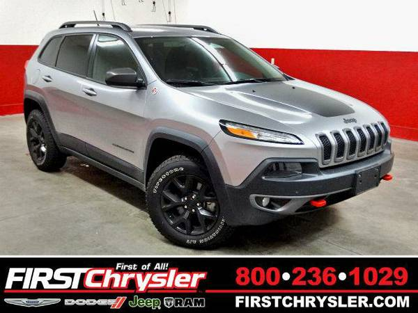 2015 *Jeep Cherokee* Trailhawk - Jeep Billet Silver Metallic Clearcoat