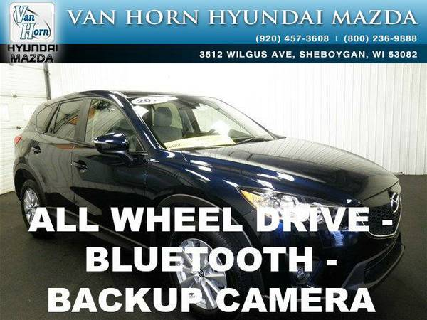 2015 *Mazda CX-5* Touring AWD - Deep Crystal Blue Mica BAD CREDIT OK!