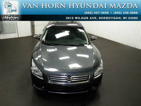 2012 *Nissan Maxima* 3.5 SV - Dark Slate Metallic BAD CREDIT OK!