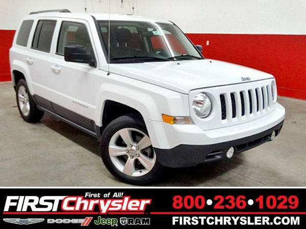 2014 *Jeep Patriot* Latitude - Jeep Bright White Clearcoat