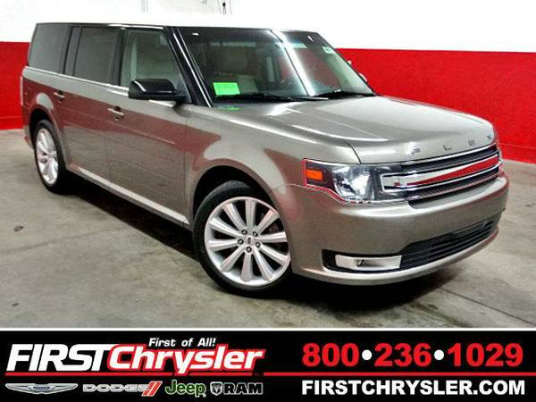 2013 *Ford Flex* SEL-AWD - Ford Mineral Gray Metallic