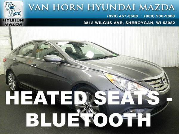 2013 *Hyundai Sonata* SE 2.0T - Harbor Gray Metallic BAD CREDIT OK!