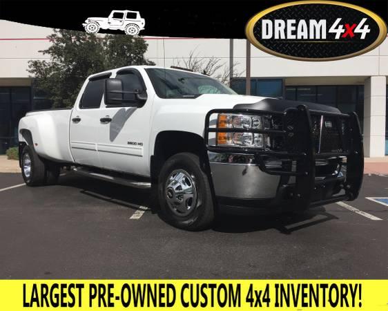 2012 CHEVROLET SILVERADO 3500 4WD CREW CAB DUALLY DIESEL!! ALLISON!!