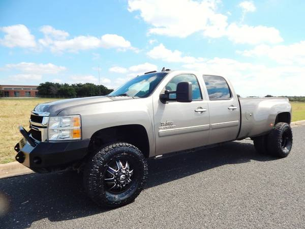 2013 CHEVY 3500 LT 6.6 DURAMAX FUEL WHEELS SUPER CLEAN RIG RUST FREE
