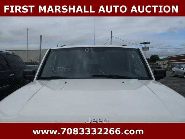 2008 Jeep Commander Sport - First Marshall Auto Auction