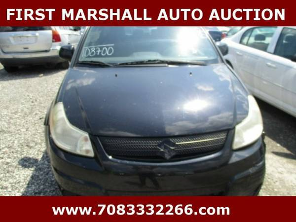 2008 Suzuki SX4 - First Marshall Auto Auction