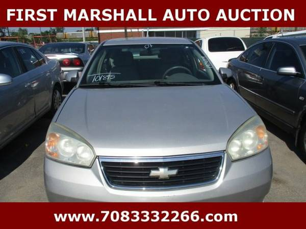 2007 Chevrolet Malibu Maxx LT - First Marshall Auto Auction
