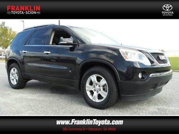 2009 *GMC Acadia* SLT-1 - (Carbon Black Metallic) 6