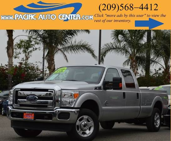 * 2016 Ford F250 XLT * CREW CAB * TURBO DIESEL * FORD F-250 #15534