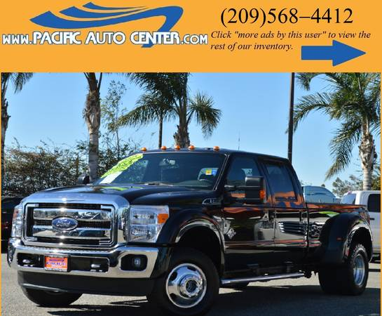 * 2015 Ford F350 * LARIAT * DUALLY * DIESEL * FORD F-350 #14554