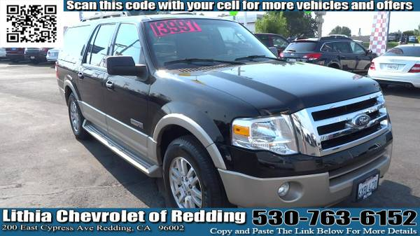 2007 FORD EXPEDITION EL 5.4L 8 CYL (1FMFK18587LA02240)