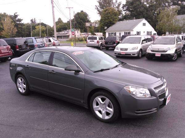 2009 CHEVY MALIBU LS SEDAN LOW MILES! ONLY 61K! GUARANTEED APPROVAL!!