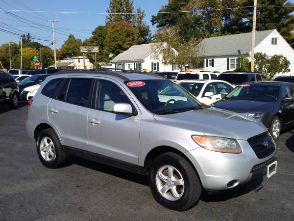 2008 HYUNDAI SANTA FE AWD SUV! $500 DOWN DRIVE HOME TODAY GUARANTEED!!